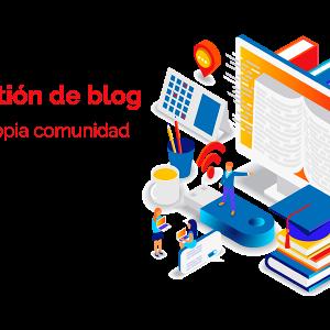 gestión de blog