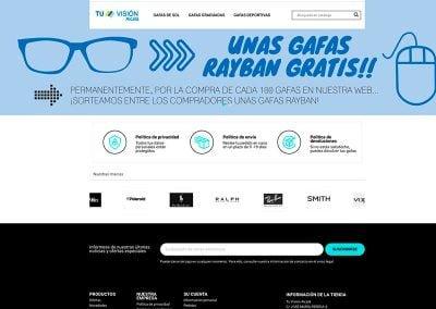 Tienda online de Tu Visión Alcalá
