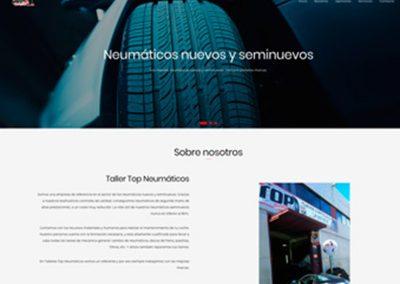 Web de Top Neumáticos