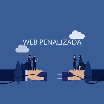 web penalizada