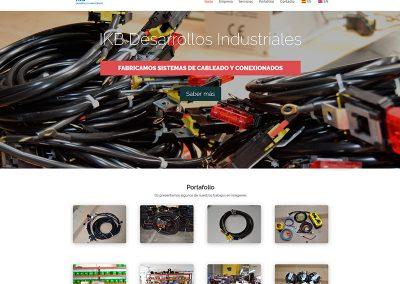 Diseño web para IKB Industrial